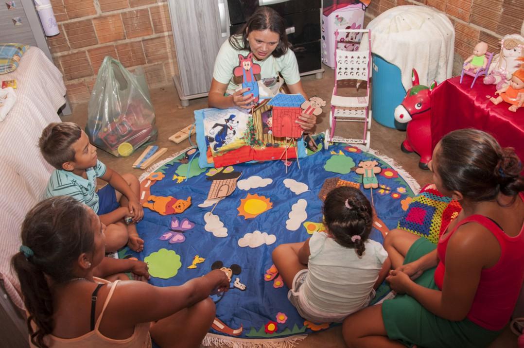 Antes da pandemia, famílias recebiam acompanhamento presencial