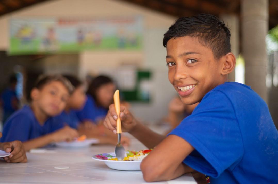 Cerca de 16 mil crianças e adolescentes são atendidos por 91 entidades contempladas pelo Mais Nutrição (foto tirada antes da pandemia)