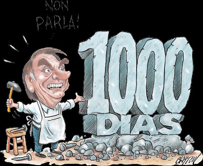 Governo Bolsonaro em Charges | Bolsonaro 1000 dias
